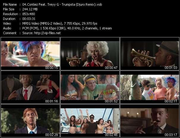 Contiez Feat. Treyy G - Trumpsta (Djuro Remix)