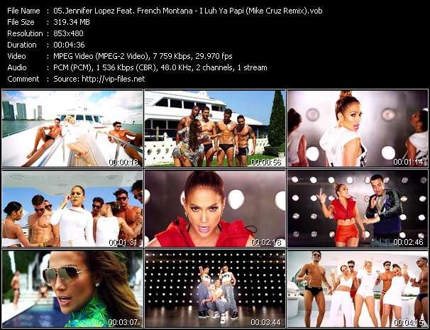Jennifer Lopez Feat. French Montana - I Luh Ya Papi (Mike Cruz Remix)
