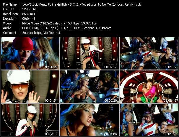 A'Studio Feat. Polina Griffith - S.O.S. (Tocadiscos Tu No Me Conoces Remix)