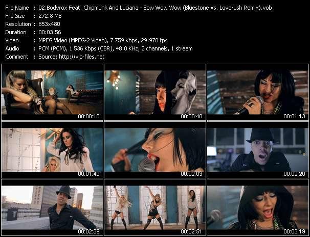 Bodyrox Feat. Chipmunk And Luciana - Bow Wow Wow (Bluestone Vs. Loverush Remix)