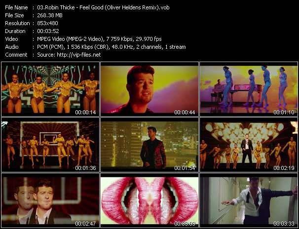 Robin Thicke - Feel Good (Oliver Heldens Remix)