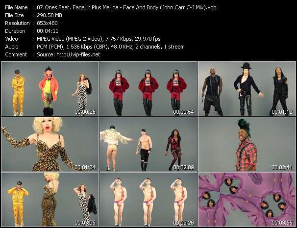Ones Feat. Fagault Plus Marina - Face And Body (John Carr C-J Mix)