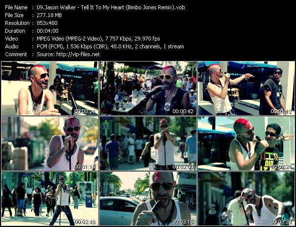 Jason Walker - Tell It To My Heart (Bimbo Jones Remix)