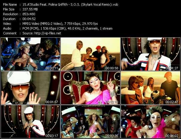 A'Studio Feat. Polina Griffith - S.O.S. (Skylark Vocal Remix)