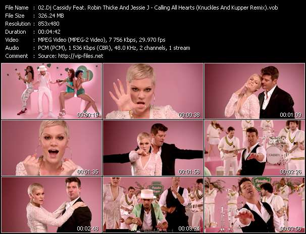 Dj Cassidy Feat. Robin Thicke And Jessie J - Calling All Hearts (Frankie Knuckles And Eric Kupper Remix)