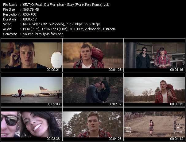 TyDi Feat. Dia Frampton - Stay (Frank Pole Remix)