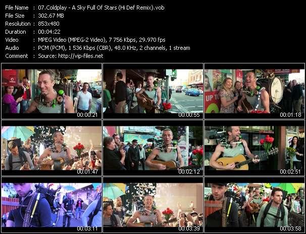 Coldplay - A Sky Full Of Stars (Hi Def Remix)