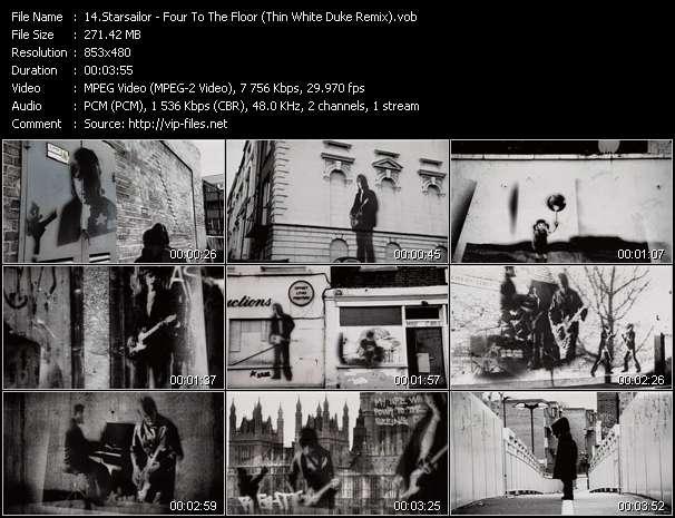 Starsailor - Four To The Floor (Thin White Duke Remix)