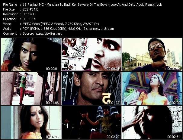 Panjabi MC - Mundian To Bach Ke (Beware Of The Boys) (LookAs And Dirty Audio Remix)