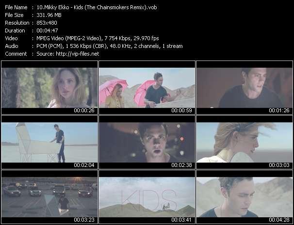 Mikky Ekko - Kids (The Chainsmokers Remix)
