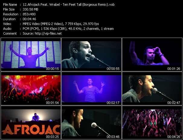 Afrojack Feat. Wrabel - Ten Feet Tall (Borgeous Remix)