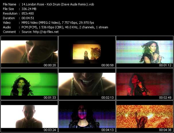 London Rose - Kick Drum (Dave Aude Remix)