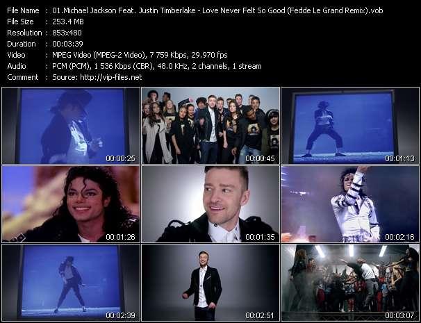 Michael Jackson Feat. Justin Timberlake - Love Never Felt So Good (Fedde Le Grand Remix)