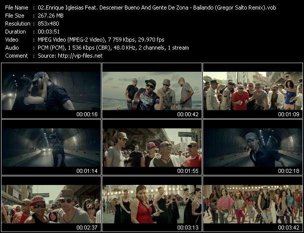 Enrique Iglesias Feat. Descemer Bueno And Gente De Zona - Bailando (Gregor Salto Remix)
