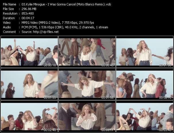 Kylie Minogue - I Was Gonna Cancel (Moto Blanco Remix)