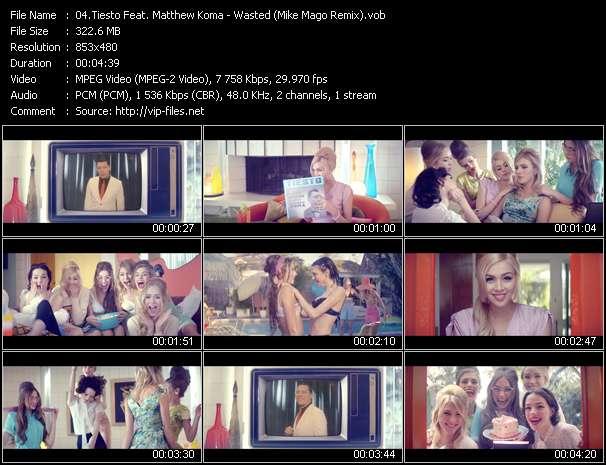 Tiesto Feat. Matthew Koma - Wasted (Mike Mago Remix)