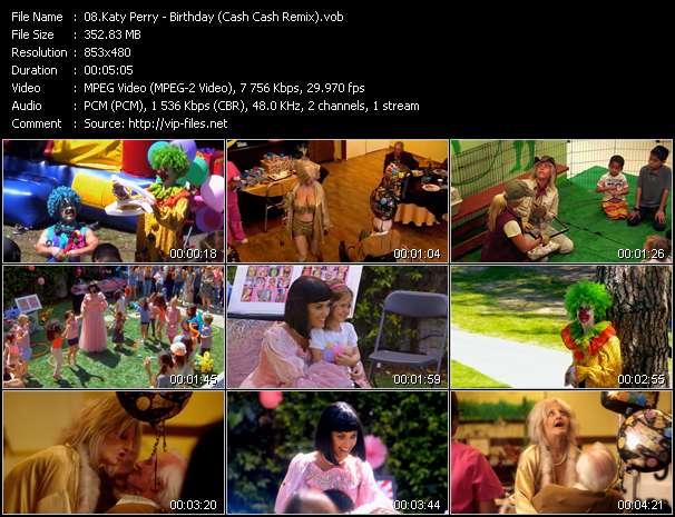 Katy Perry - Birthday (Cash Cash Remix)