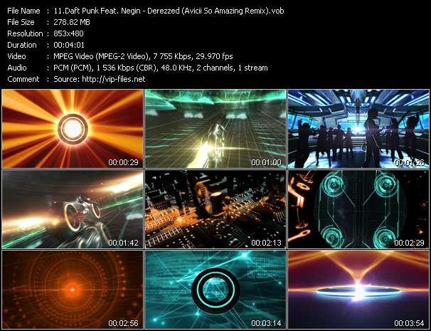 Daft Punk Feat. Negin - Derezzed (Avicii So Amazing Remix)