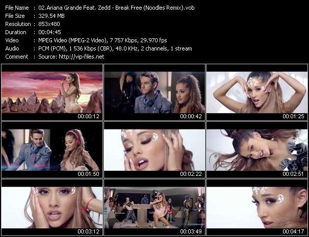 Ariana Grande Feat. Zedd - Break Free (Noodles Remix)