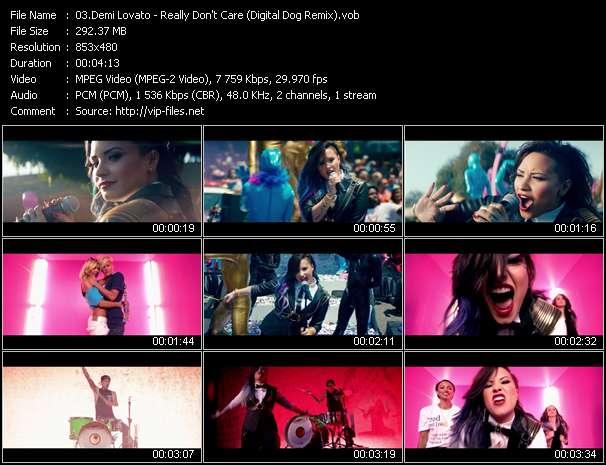 Demi Lovato - Really Don't Care (Digital Dog Remix)