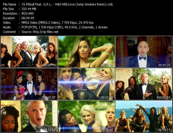 Pitbull Feat. G.R.L. - Wild Wild Love (Jump Smokers Remix)