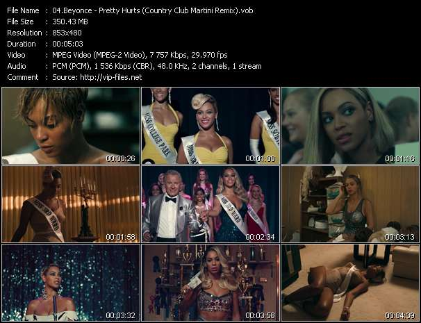 Beyonce - Pretty Hurts (Country Club Martini Remix)