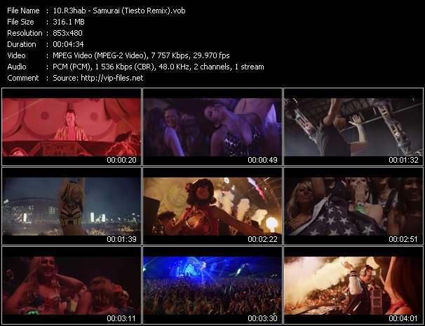 R3hab - Samurai (Tiesto Remix)