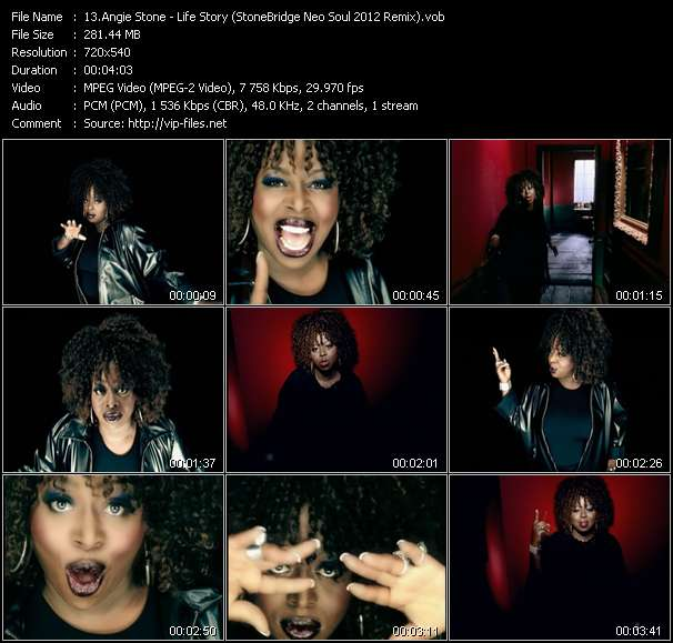 Angie Stone - Life Story (StoneBridge Neo Soul 2012 Remix)