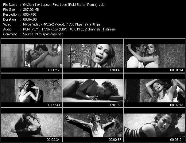 Jennifer Lopez - First Love (Reid Stefan Remix)