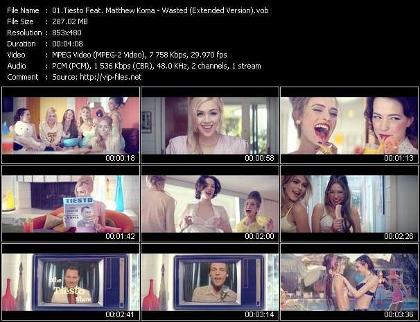Tiesto Feat. Matthew Koma - Wasted (Extended Version)