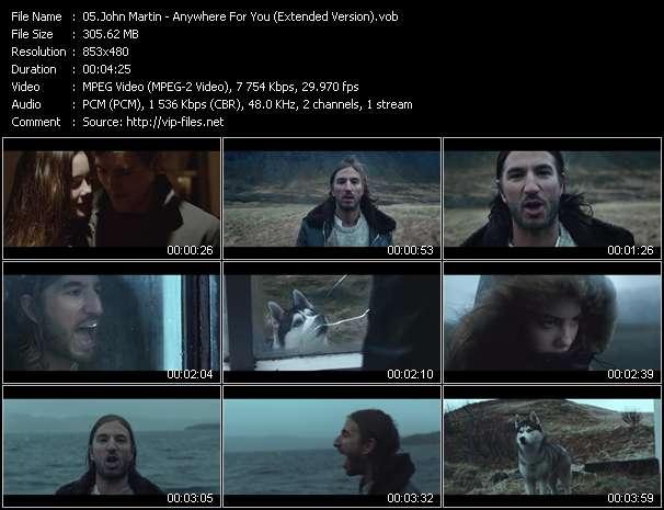 John Martin - Anywhere For You (Extended Version)