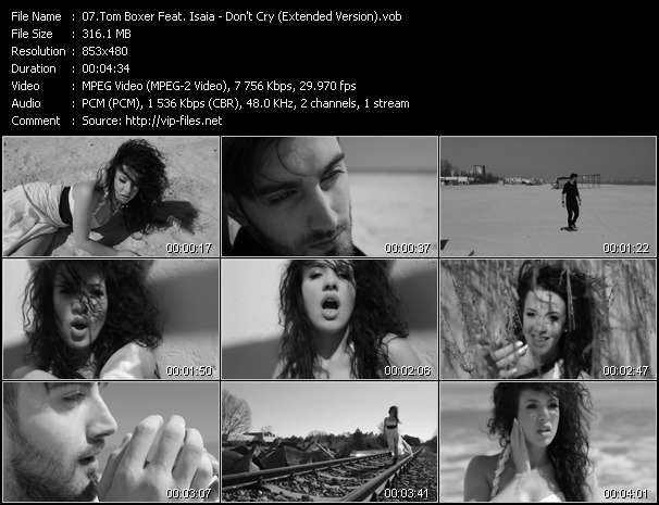 Tom Boxer Feat. Isaia - Don't Cry (Extended Version)