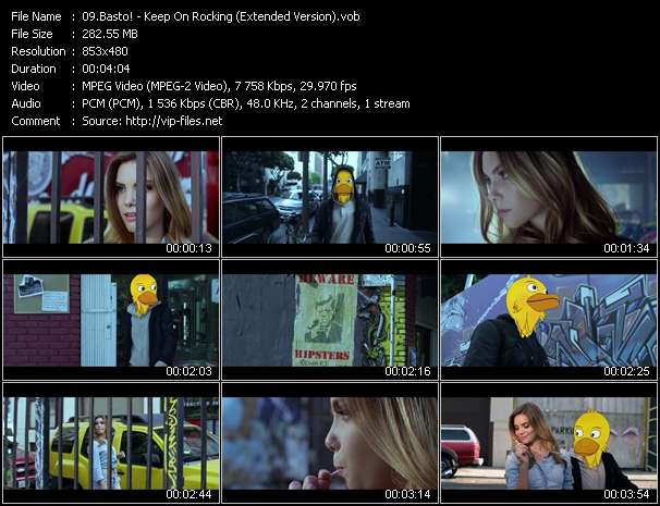 Basto! - Keep On Rocking (Extended Version)