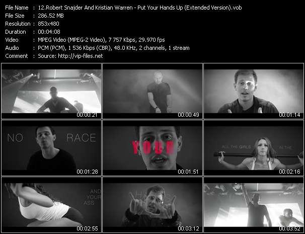 Robert Snajder And Kristian Warren - Put Your Hands Up (Extended Version)
