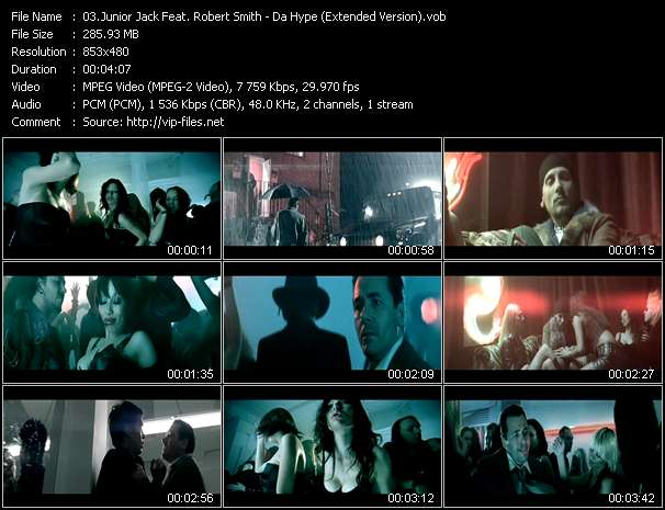Junior Jack Feat. Robert Smith - Da Hype (Extended Version)