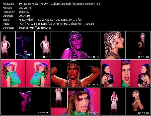 4Noize Feat. Ana Arri - Culture Cocktails (Extended Version)
