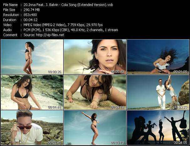 Inna Feat. J. Balvin - Cola Song (Extended Version)