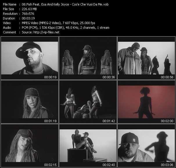 Fish Feat. Esa And Kelly Joyce - Cos'e Che Vuoi Da Me
