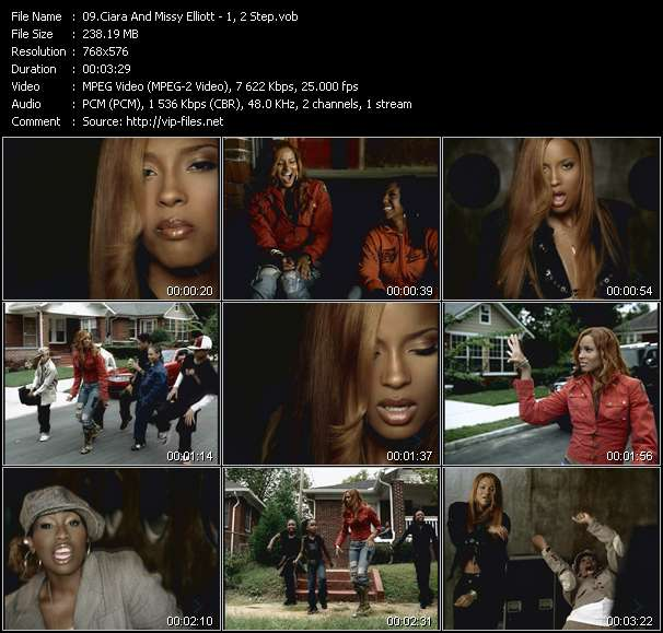 Ciara And Missy Elliott - 1, 2 Step