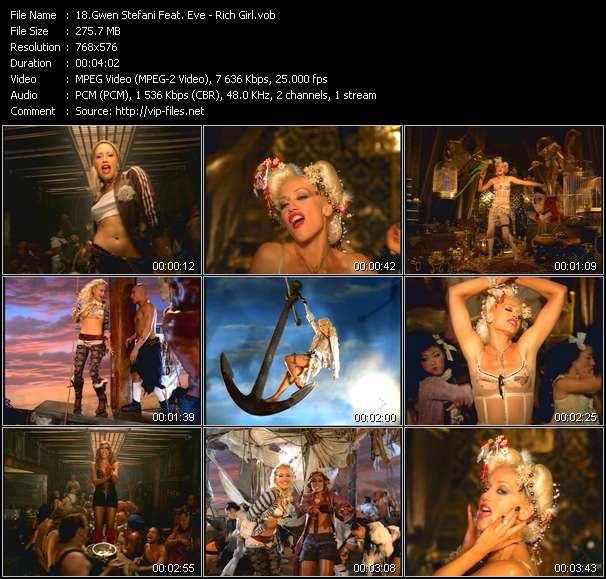 Gwen Stefani Feat. Eve - Rich Girl