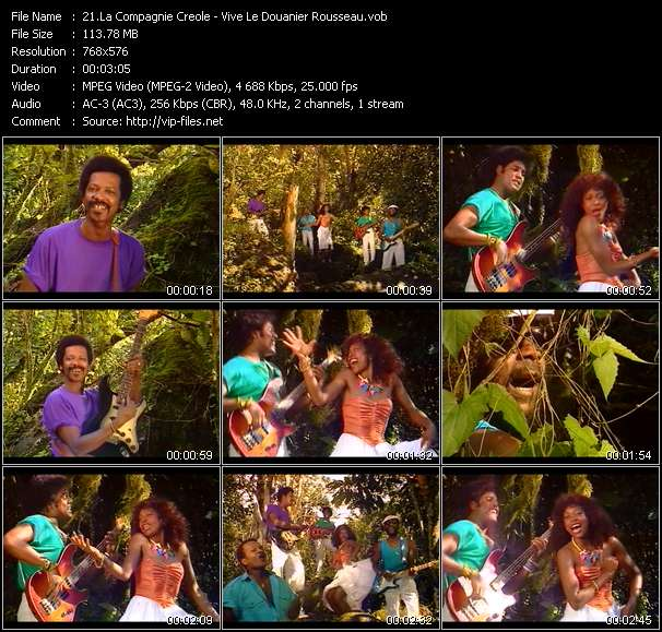 La Compagnie Creole - Vive Le Douanier Rousseau