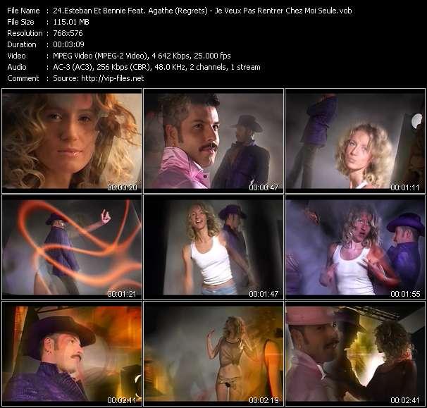 Esteban Et Bennie Feat. Agathe (Regrets) - Je Veux Pas Rentrer Chez Moi Seule