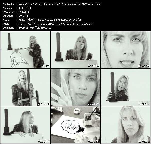 Corinne Hermes - Dessine-Moi (Victoire De La Musique 1990)