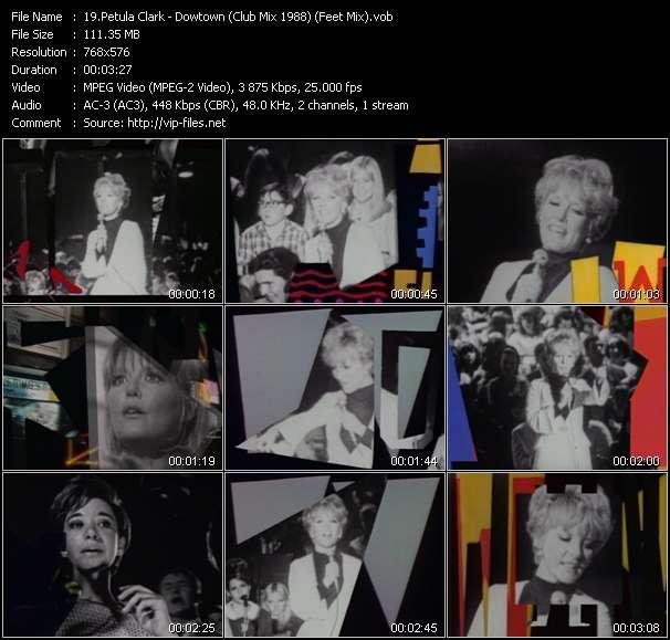Petula Clark - Downtown (Club Mix 1988) (Feet Mix)