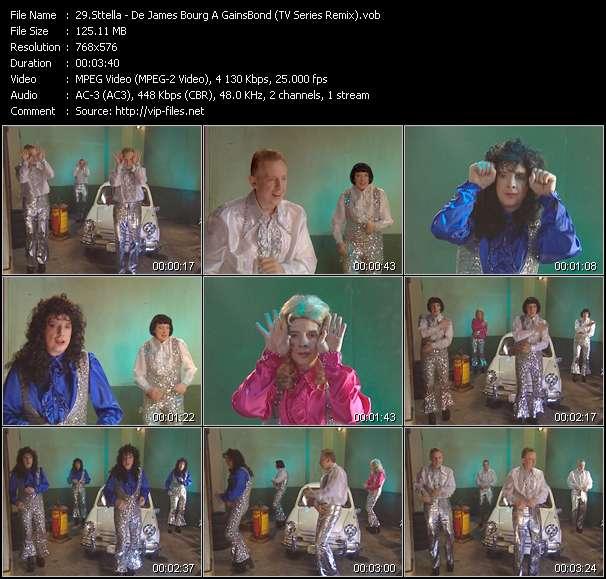 Sttella - De James Bourg A GainsBond (TV Series Remix)