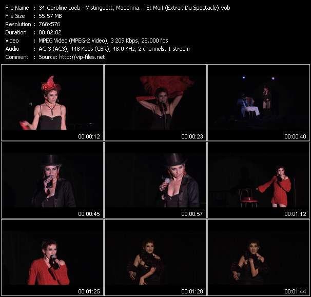Caroline Loeb - Mistinguett, Madonna... Et Moi! (Extrait Du Spectacle)