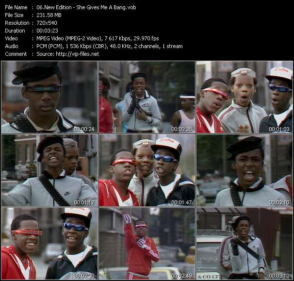 New Edition - She Gives Me A Bang