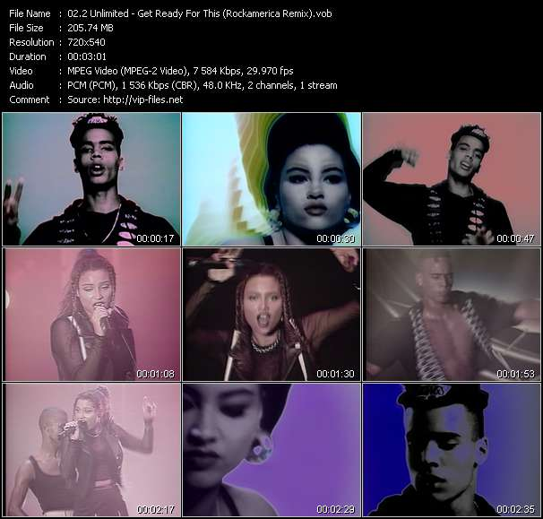 2 Unlimited - Get Ready For This (Rockamerica Remix)