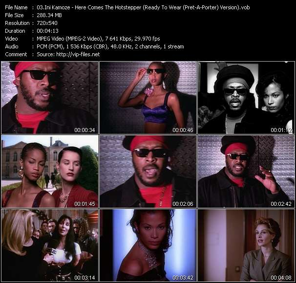 Ini Kamoze - Here Comes The Hotstepper (Ready To Wear (Pret-A-Porter) Version)