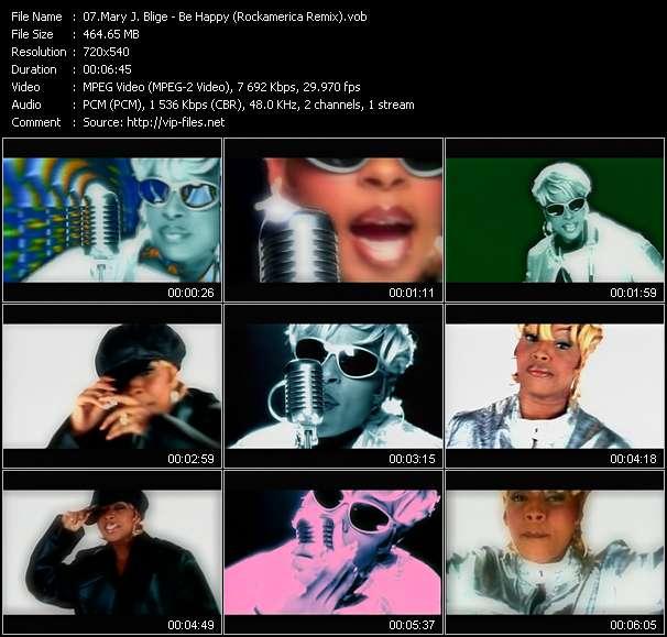 Mary J. Blige - Be Happy (Rockamerica Remix)